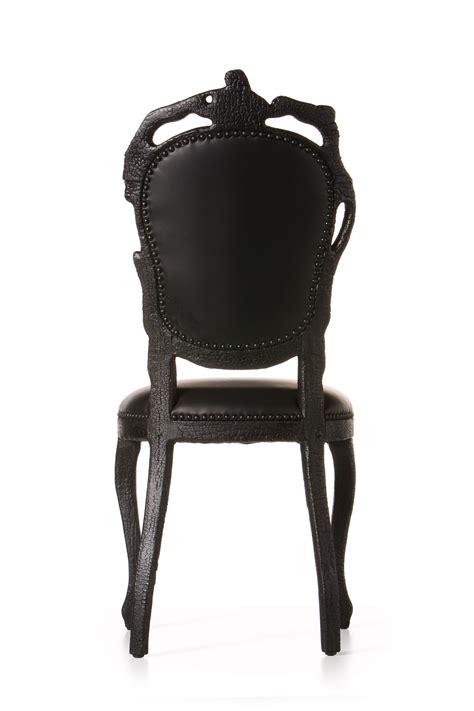 smoke dining chair moooi