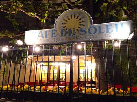 cuisine soleil dining with diplomats cafe du soleil in geneva