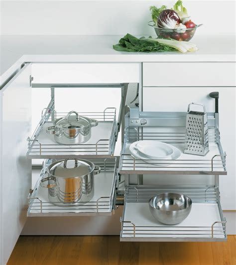 Cabinet With Basket Storage by Magic Corner Ii For Blind Corner Cabinets In The H 228 Fele