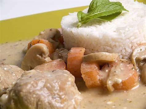 cuisiner une blanquette de veau recette culinaire préparer une blanquette de veau