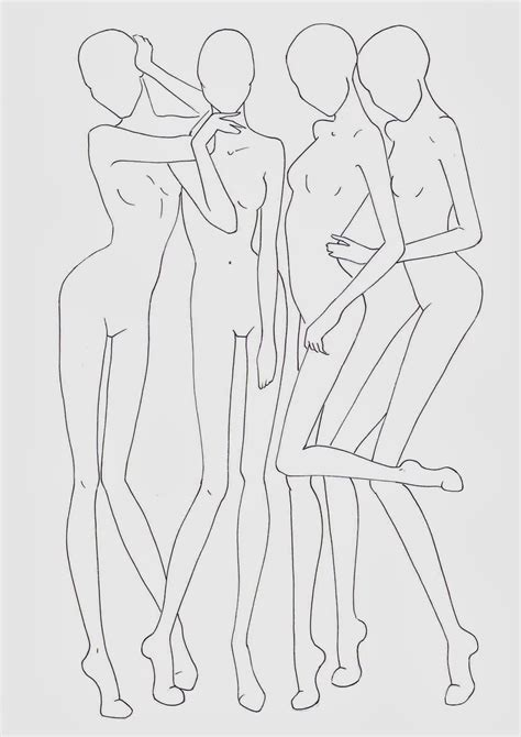 sketch templates fashion croquis templates corpi figurini base moda 2 fashion design