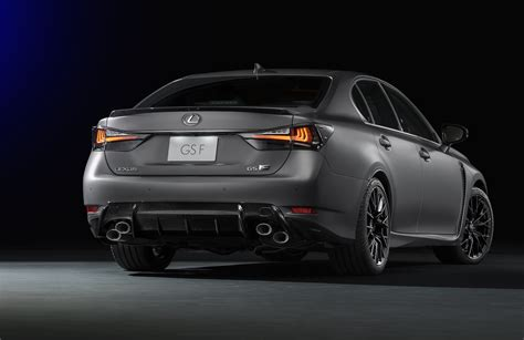 lexus rc f gs f matte grey special editions coming to