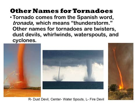 Other Names For by Weather And Severe Storms Ppt