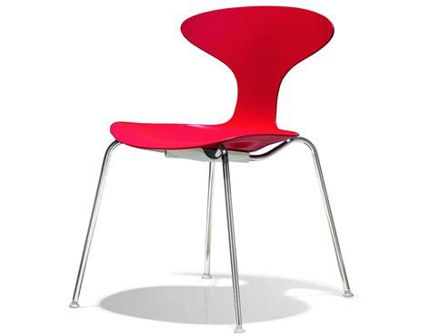 cherner chair orbit plastic stacking chair hivemodern com