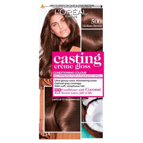 L'oreal casting creme gloss hair dye   review. Buy L'Oreal Paris Casting Creme Gloss 500 Medium Brown ...