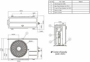 Lg Ls090hsv4 Air Conditioner Cooling Area  Adjustable Air