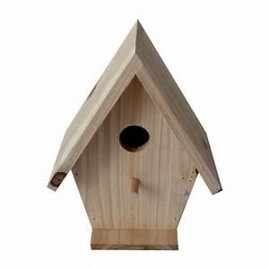 Plan Nichoir Oiseaux : nichoir chalet nichoir pour oiseaux des jardins caillard wanimo ~ Melissatoandfro.com Idées de Décoration