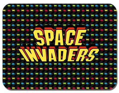 space invaders doormat mouse mats