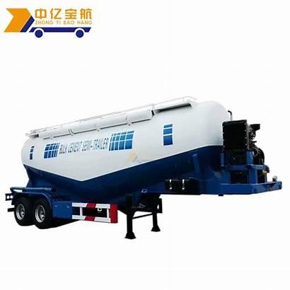 Cement Trailer Tanker Truck Powder Air Compressor