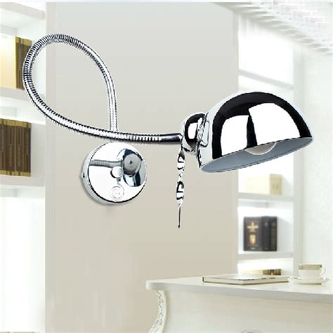 led reading lights bedroom wall l swing arm modern wall