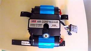 Onboard Air Arb Twin Air Compressor Ckmta12 Installed With