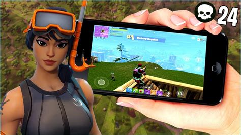 fortnite mobile squad gameplay  friends  total