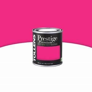 Comment Faire Du Rose En Peinture : peinture prestige murs et boiseries rose sari satin 125 ml ~ Melissatoandfro.com Idées de Décoration