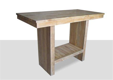 table haute cuisine bois table rabattable cuisine table haute 4 personnes