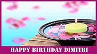 Dimitri Birthday Spa - Happy Birthday - YouTube