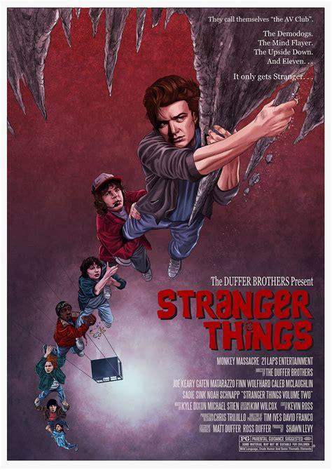 Stranger Things (2016) [1575 x 2227] | Stranger things ...