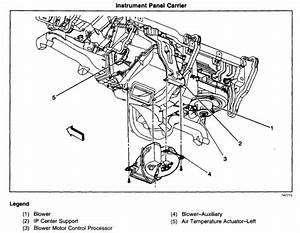 Where Is The Ac Actuator Located On A 2002 Chevy