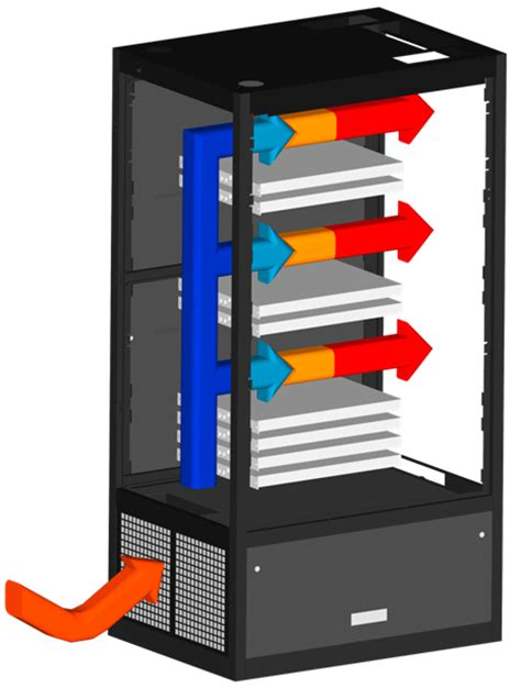 air conditioned rack cabinet rack ctm ac air conditioning humidification