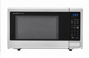 Smc1840cs 1 8 Cu Ft Stainless Steel Microwave
