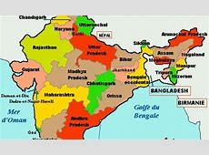 India stats map Maps of India