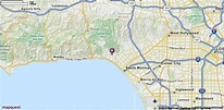 Pacific Palisades, CA Map | MapQuest | Pacific palisades ...