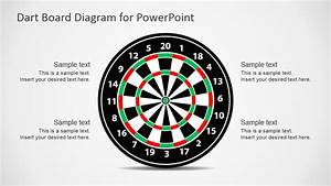 Dart Board Design For Powerpoint