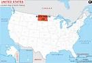Where is North Dakota Located? Location map of North Dakota