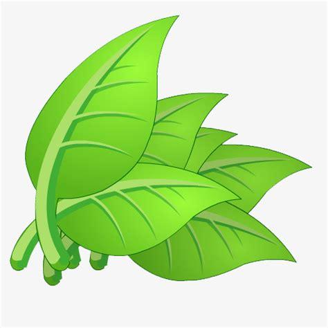 hojas de dibujos animados dibujados a mano dibujo a mano de dibujos animados tallos y hojas leaf