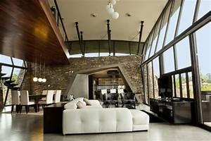 Interior Of Modern Pool House Garden Design Ideas