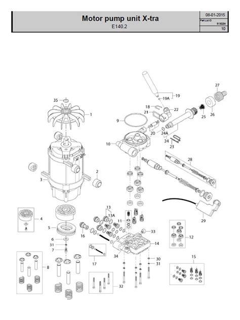 nilfisk alto  unloader nilfisk alto part  start stop system kitworkshop manual