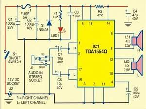 44 Watt Mobile Car Stereo Amplifier