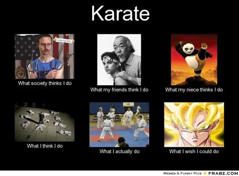 Karate Meme - karate what people think i do what i really do perception vs fact