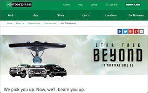 enterprise rent  car teams  star trek