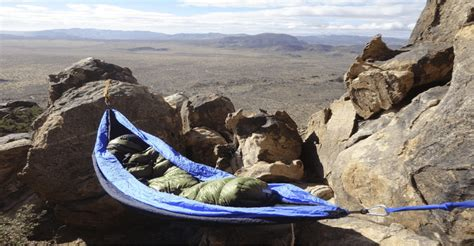 Hammock Cing Without Trees by You Can Hammock In Any Terrain Serac Hammocks