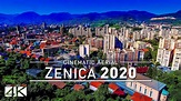 One Man Wolf Pack – 【4K】Drone Footage | Zenica - City at ...
