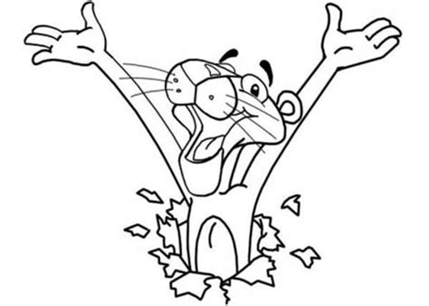Pink Panther Coloring Pages Christmas Coloring Pages