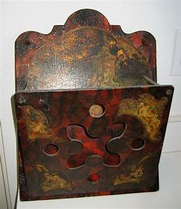 antique victorian decorative wood letter holder cherubs With vintage wooden letter holder