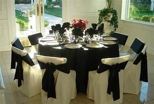 Elegant Black Table Linen Formal Event Thediapercake Home Trend Most Popular Landscaping Designs
