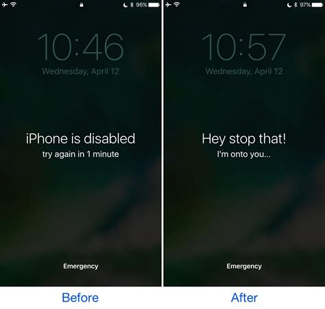 what to do if iphone is disabled this tweak customizes the iphone is disabled text that