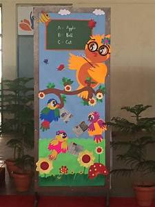 cool spring door decorations for preschoolers (1
