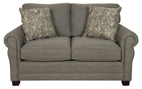 Traditional Style Loveseats by Green Two Cushion Loveseat With Traditional Style