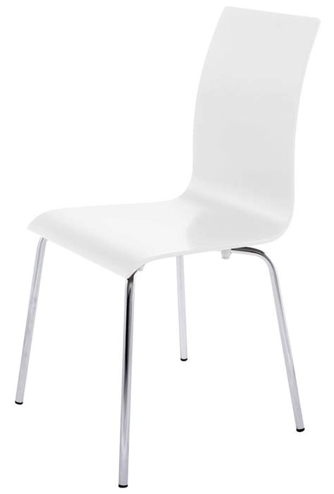 chaises design blanches chaises salle a manger blanches design chaise idées de