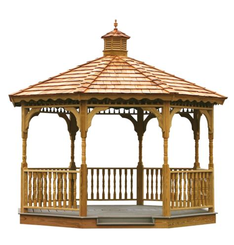 wooden gazebo significance   detailed shed