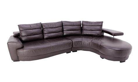 italian leather sectional sofa lanouva vintage italian leather sectional sofa ebay