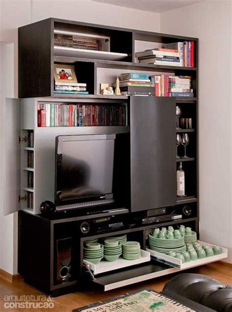 ideas de muebles funcionales  espacios pequenos