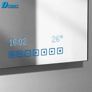 Miroir Salle De Bain Bluetooth : salle de bain intelligente miroir avec mp3 bluetooth ~ Dailycaller-alerts.com Idées de Décoration