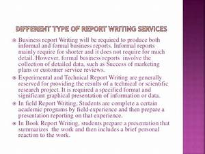 types of business reports pdf