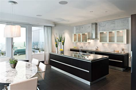 what is the best flooring for kitchens installation of idea in larch brown modern kitchen 9857