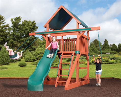 swing sets for small spaces swingsets and playsets nashville tn adventure treehouse 8419