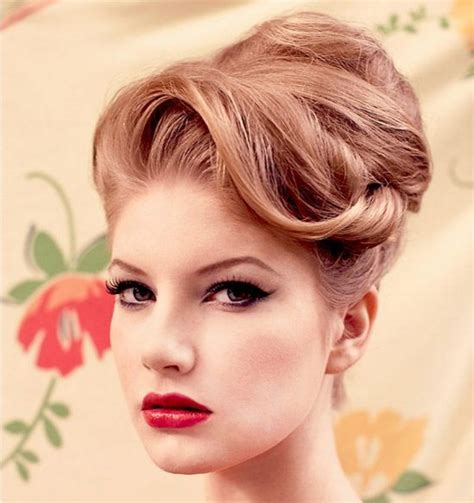 60s Pin Up Hairstyles by 15 Vintage Hair Updo To Try Even Today As Popular Trend